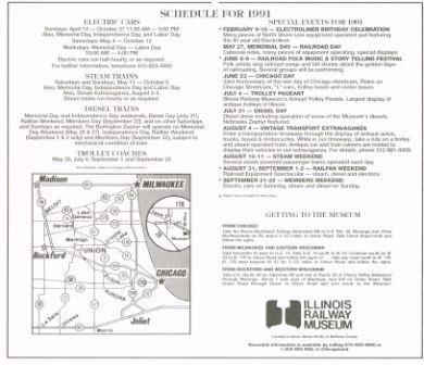 Illinois Railway Museum S Cta History Website